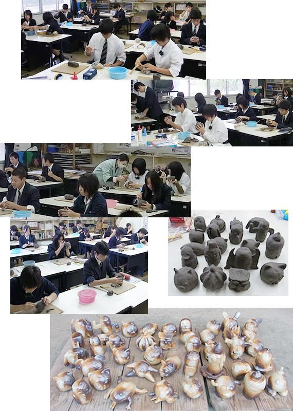 土鈴造り授業